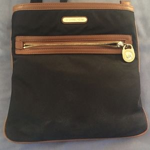 Black Nylon Michael Kors Crossbody Bag